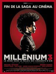 sortie dvd  Millénium 3 - La Reine Dans Le Palais Des Courants D'air