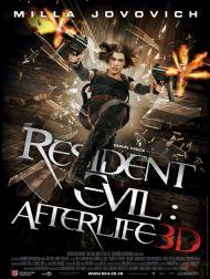 sortie dvd  Resident Evil - Afterlife 3D
