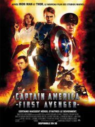 sortie dvd  The First Avenger - Captain America