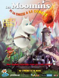 sortie dvd  Les moomins et la chasse à la comète