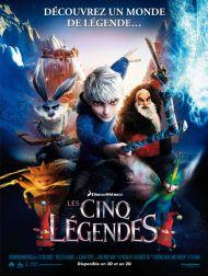 sortie dvd  Les Cinq Légendes