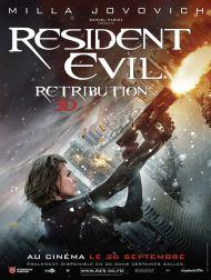 sortie dvd  Resident Evil: Retribution