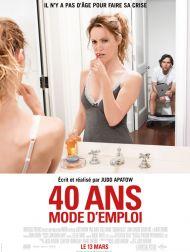 sortie dvd  40 Ans : Mode D'emploi