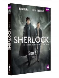 sortie dvd  SHERLOCK Saison 2