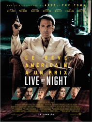 sortie dvd  Live By Night