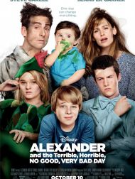 sortie dvd  Alexander And The Terrible, Horrible, No Good, Very Bad Day
