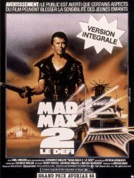sortie dvd	  Mad Max 2