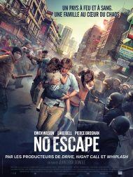 sortie dvd  No Escape