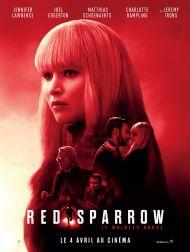 sortie dvd  Red Sparrow