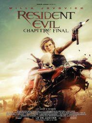 sortie dvd  Resident Evil - Chapitre Final