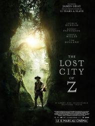 sortie dvd  The Lost City Of Z