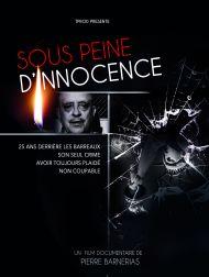 sortie dvd  Sous Peine D'innocence
