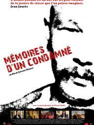 sortie dvd  Mémoires D'un Condamné
