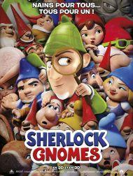 sortie dvd  Sherlock Gnomes