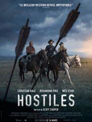 sortie dvd  Hostiles