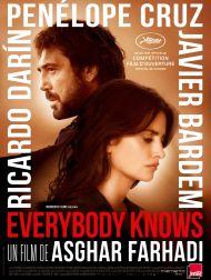 sortie dvd  Everybody Knows