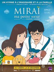 sortie dvd  Miraï, Ma Petite Sœur
