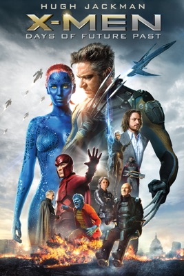 Jaquette dvd X-Men : Days Of Future Past