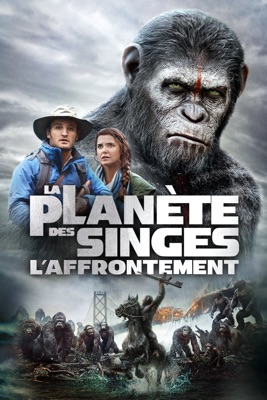 DVD La planète des singes : L'affrontement