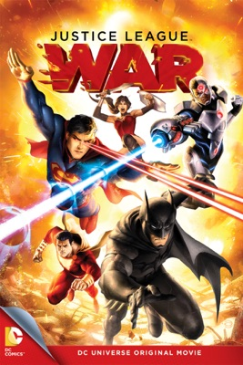 DVD Justice League: War