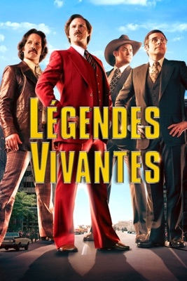 DVD Légendes Vivantes (Anchorman 2: The Legend Continues)