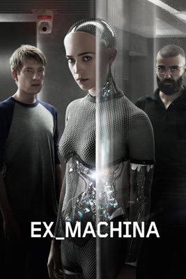 Jaquette dvd Ex_Machina