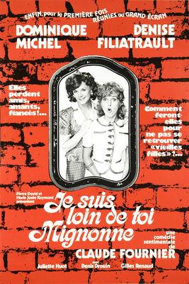 Jaquette dvd Je Suis Loin De Toi Mignonne