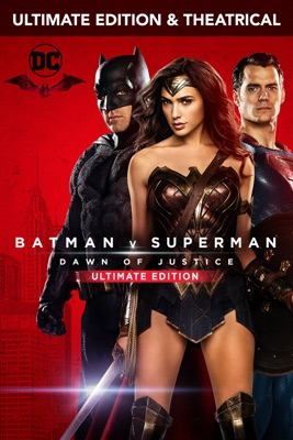 DVD Batman V Superman : L'Aube De La Justice (Ultimate Edition)
