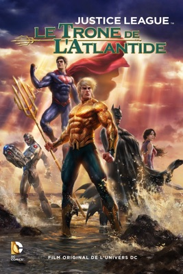 DVD Justice League : Le Trône De L'Atlantide