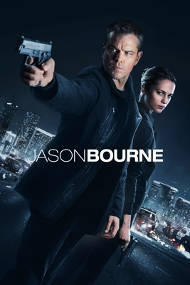 Jaquette dvd Jason Bourne