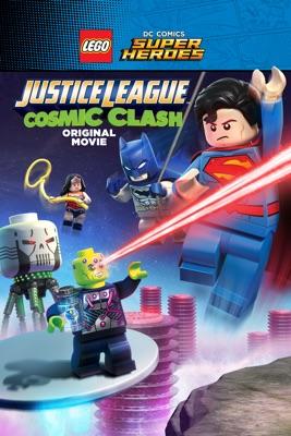 DVD Lego DC Affrontement Cosmic (LEGO DC Comics Super Heroes: Justice League - Cosmic Clash)