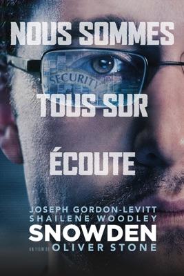 Jaquette dvd Snowden