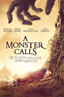 Jaquette dvd A Monster Calls [Quelques Minutes Après Minuit]