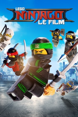 DVD LEGO Ninjago Le Film (The LEGO Ninjago Movie)