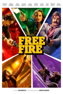 Jaquette dvd Free Fire