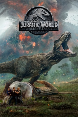 Jaquette dvd Jurassic World: Fallen Kingdom