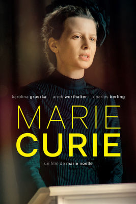 Jaquette dvd Marie Curie
