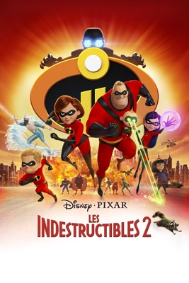 Jaquette dvd Les Indestructibles 2