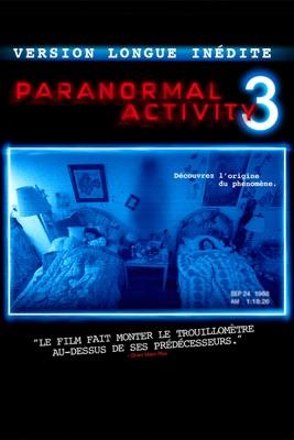 Paranormal Activity 3 (Version Longue Inédite) en streaming ou téléchargement