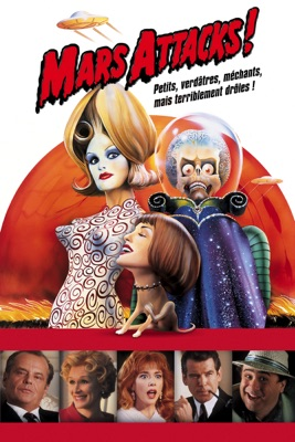 DVD Mars Attacks!