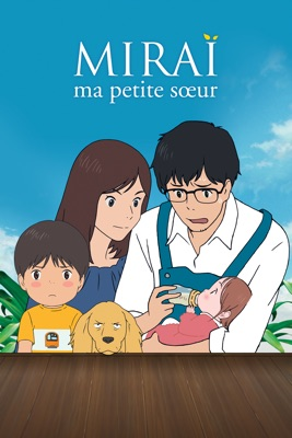 DVD Miraï, Ma Petite Sœur (VOST)