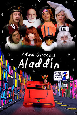 DVD Adam Green's Aladdin