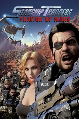 DVD Starship Troopers: Traitor Of Mars