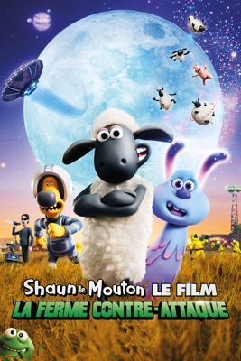 Jaquette dvd Shaun Le Mouton, Le Film : La Ferme Contre-attaque
