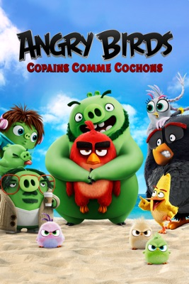 DVD Angry Birds : Copains Comme Cochons
