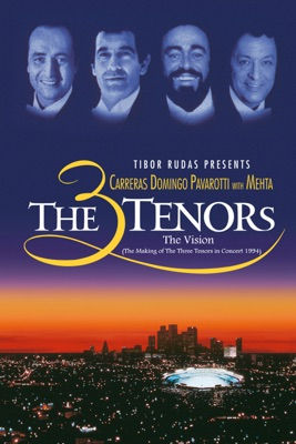 Télécharger The Three Tenors - The Vision (The Making Of The Three Tenors In Concert 1994)