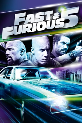 Jaquette dvd Fast & Furious 5