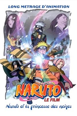 DVD Naruto Et La Princesse Des Neiges