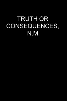 Jaquette dvd Truth Or Consequences, N.M.