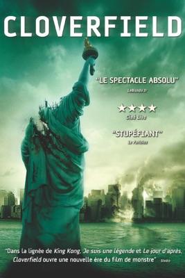Jaquette dvd Cloverfield